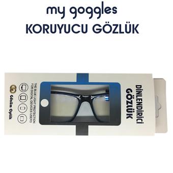 My Goggles Koruyucu Gözlük LH222 C5 resmi
