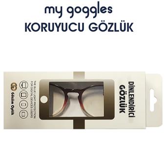 My Goggles Koruyucu Gözlük LH303 C4 resmi