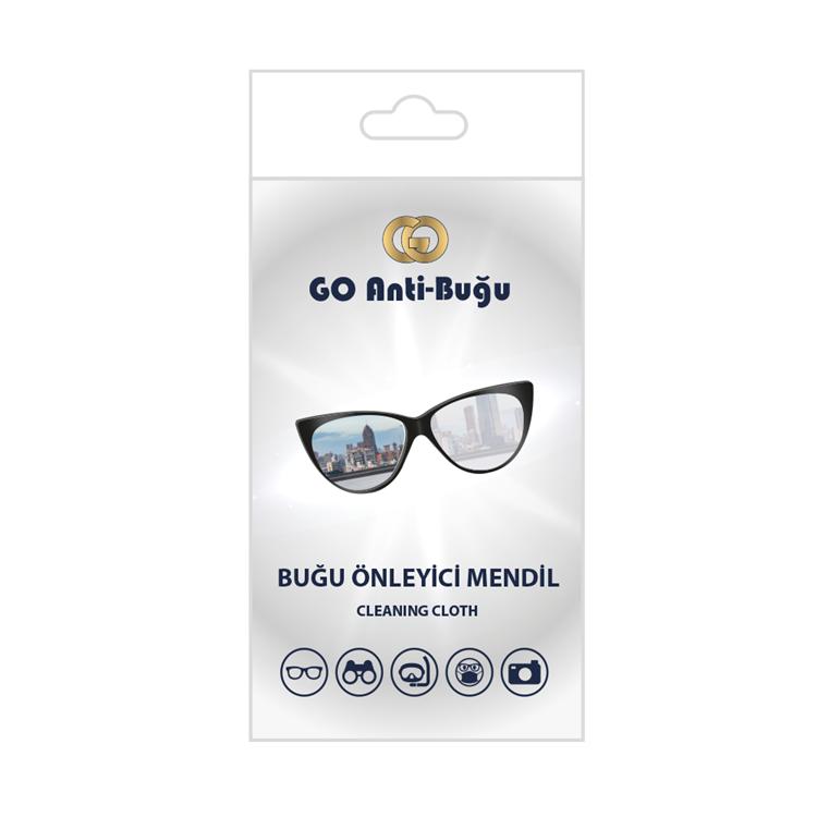 GO ANTİ-BUĞU Buğu Önleyici Mendil resmi